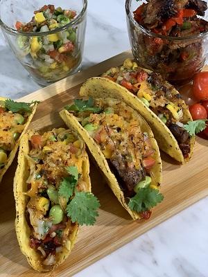 Sambal Daging Salai (Smoked Meat Sambal) w/Tomato & Belacan Salsa in Tacos by Chef Bob Adnin (MOMC TV S1E1)