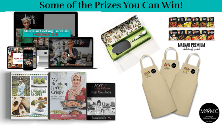 Malaysian Heritage Cuisine Giveaway Winners Announcement