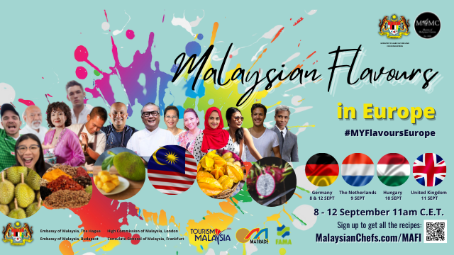 #MYFlavoursEurope – MOMC Partners with MAFI to Promote Malaysian Flavours In Europe