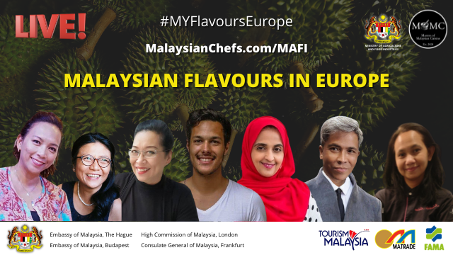 #MYFlavoursEurope – Schedule Of Cooking Demos